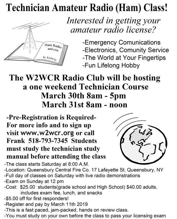 March 2019 Tech Class Flyer