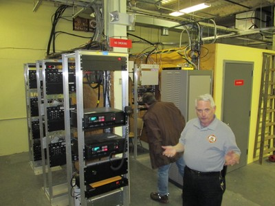 Warren County Public Safety Radio Racks