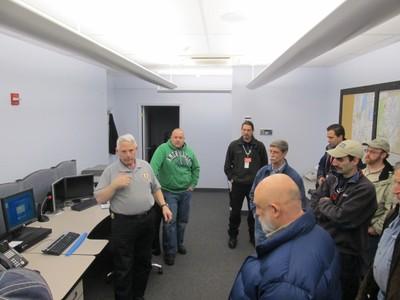 Warren County Secondary Dispatch Room