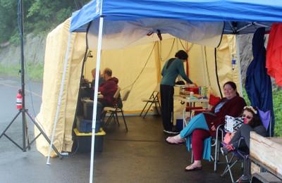 Mickeys Tent