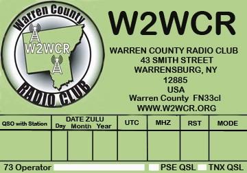 W2WCR QSL
